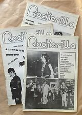 Tre riviste ROCKERILLA - n 11 dicembre 1979 + numero 2 e numero 3 1980