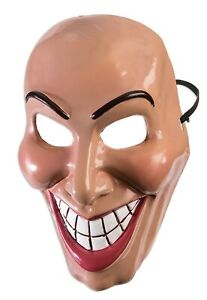 Evil Grin Horreur Déguisement Halloween Freaky Effrayant Masque Visage Accessory