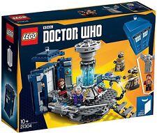 NEW *SEALED* READY TO SHIP!! LEGO 21304  Ideas Doctor Dr WHO TARDIS DALEK ANGEL