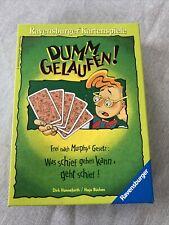 Dumm gelaufen - Kartenspiel  Ravensburger Spiele, 10-99 Jahre, 2-6 Spieler