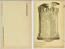 130) Cartolina Il 6 Reggimento Alpini nell'ottavo Anniversario 1 marzo 1904