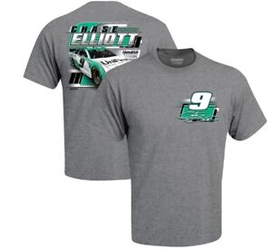 """2021 #9 Chase Elliott  """"UniFirst """" 2 Spot Graphic Adult Tee XL - SD SHIP"""