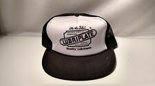 Lubriplate vintage black and white  Snapback Trucker Hat Cap