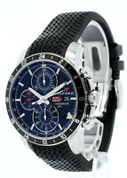 CHOPARD MILLE MILGIA GMT CHRONOGRAPH REF: 8550 AUTOMATIC BLACK DIAL 42.5MM WATCH