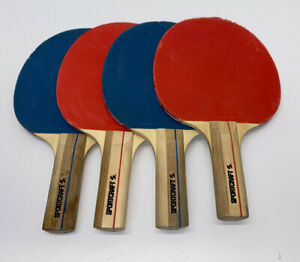 Sportcraft Table Tennis Paddles Racquets Lot Of 4