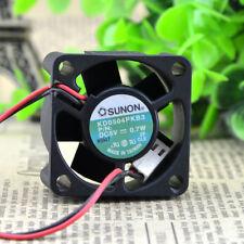 SUNON KD0504PKB3 Cooling Fan DC 5V 0.7W 40mm x 40mm x 20mm 2 WIRE