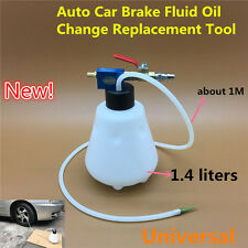 1.4 Litre Universal Auto Car Vacuum Brake Bleeder Tank Pump Fluid Oil Hose Tool