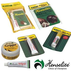 Hensalite Lawn Bowls Accessories Polishing Kits Cloths Grip Spray Chalk Marker