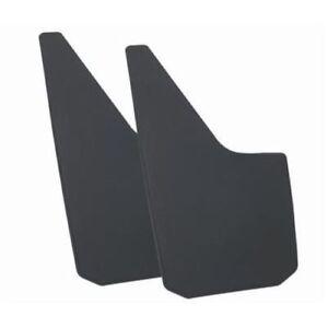 Dee Zee DZ17939 Universal Fit Mud Flaps; Thermoplastic (Pair) - Black