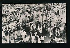 Ceylon Sri LAnka The Kandy Perahera Animals ELEPHANTS c1920/30s? RP PPC