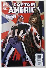 Captain America #18 2006 Marvel Comics Twenty-First Century Blitz Part One C3237