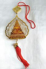 Mobile Hanging Car House Phra Chinnarat Thai Amulet For trip secure fortune