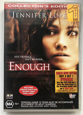Enough - Region 4 DVD - Jennifer Lopez, Billy Campbell, Tessa Allen - Ex-Rental