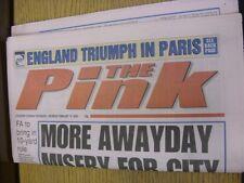 19/02/2000 COVENTRY evening Telegraph il rosa: principali titolo recita: più lontano D