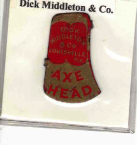 Tobacco Tag Dick Middleton & Co. Axe Head