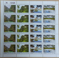 Lebanon NEW 2021 MNH set 4v. FULL SHEET Earth Day, Natural Reserves