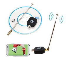 DVB-T TV Tuner Mobile TV Receiver Stick For micro USB Android Phone Tablet