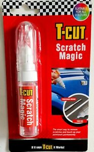 T-CUT SCRATCH MAGIC-Scratch Repair Touch Up Pen Plus Brush For Shallow Scratches
