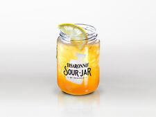 6 bicchieri jar per cocktail con senigrafia disaronno sour