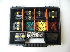 AMP Superseal Stecker 1-6-polig Mini-Starter-Set + Box KFZ,Motorrad,DUCATI,KTM