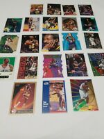 Karl Malone Lot of 22 Basketball Cards