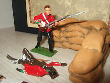 Little Legion Set Z/50 Onslaught Diorama con Fusilero de 24 Pies & Muerto Zulú