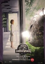 AMC Exclusive IMAX REALD 3D Jurassic World Poster 11 x 17 INDOMINUS REX