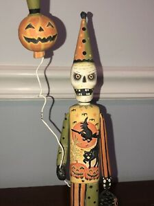 Bethany Lowe Skeleton Figure By Greg Guedel Halloween rare Retired vintage Treat