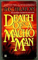Hamish Macbeth 12 DEATH OF A MACHO MAN M C Beaton First Printing