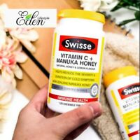Swisse Ultiboost Vitamin C + Manuka Honey 120 Tablets AU EXPRESS POSTAGE