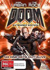 Doom (DVD, 2006)*R4*Terrific Condition*Karl Urban*The Rock
