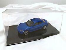 NEW AUTOart Mazda RX-8 55903 LHD Winning Blue 1/43 scale model car
