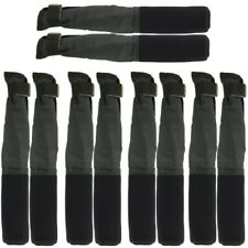 5 NGT PAIRS GREEN TIP AND BUTT CARP FISHING ROD PROTECTOR SLEEVES COARSE RODS
