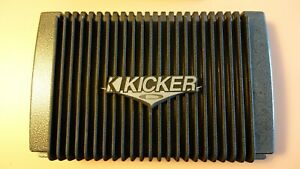 Kicker ZX460 4-Channel Old School SQ Amplifier. Made In USA!