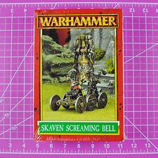 Warhammer Fantasy Skaven Grey Seer Screaming Bell NIB Metal - OOP - GW Citadel