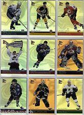 2001/02 McDONALDS PRISM GOLD 42 CARD BASE SET+10 CARD HOMETOWN PRIDE CHECKLIST