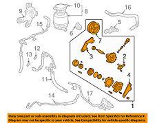 TOYOTA OEM 04-06 Camry-Power Steering Pump 4431006110