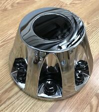 NEW 2011-2017 GMC Sierra 3500 1-ton Dually REAR Wheel Hub Center Cap CHROME