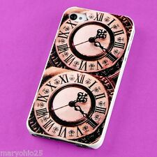 S Colorful Vintage Clock Back Skin Hard Cover Case for Apple i-phone 4 4S 4G G S