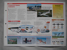 Aircraft of the World Card 81 , Group 5 - Aerospatiale (SOCATA) TB 30B Epsilon