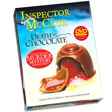 Inspector McClue Death By Chocolate Murder Mystery Dinner Party Game