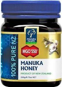 Manuka Health MGO 550+ Manuka Honey 250 gm