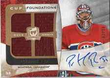 2008-2009 The Cup Patrick Roy Cup Foundations Quad Jersey Auto # 2 of 10