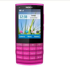 Nokia X3-02 Touch and Type PINK (Unlocked)Cellular Phone WIFI  Free Shipping