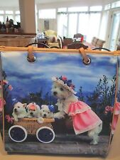 WESTIE ~MOM AND HER PUP MOBILE~  HANDBAG