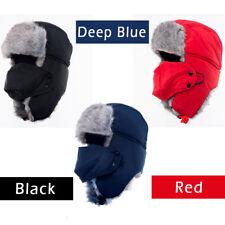 Men Women Warm Beanie Skull Cap Winter Hat Nick Full Face Mask Russian Hat Scarf