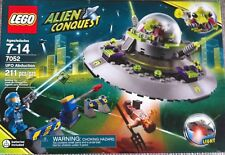 LEGO SET 7052 ALIEN CONQUEST UFO ABDUCTION, BUILDING BRICKS CONSTRUCTION NEW!