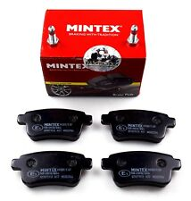 MINTEX REAR AXLE BRAKE PADS FOR RENAULT KANGOO MDB2964 (REAL IMAGE OF PART)
