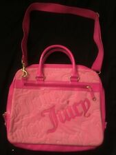 Juicy Couture Pink Laptop Over the Shoulder Bag