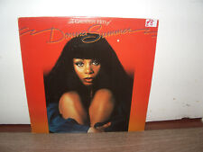 Donna Summer – The Greatest Hits Of Donna Summer GTO 1977 UK LP DISCO